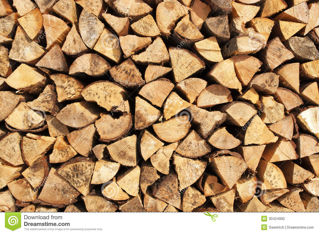 Birch Wood Fireplace Logs Pile Of Wood Logs Stock Photography Image 30424992
