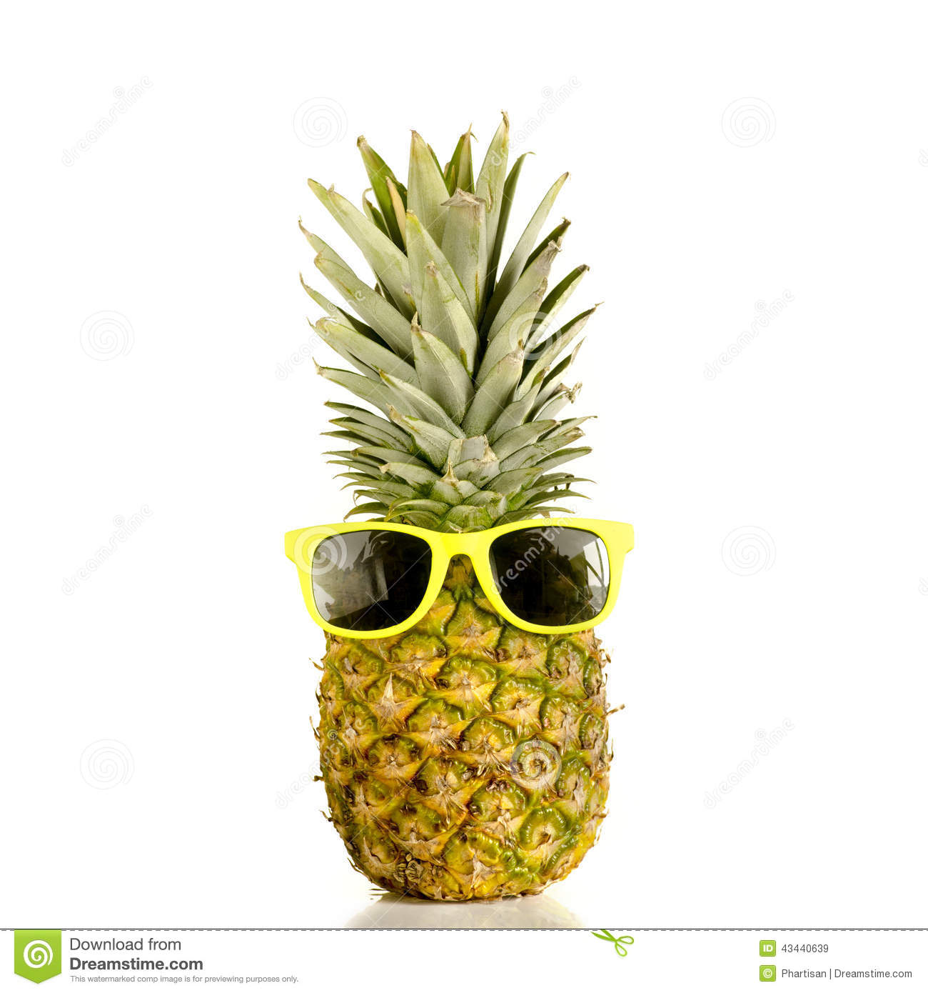 Pineapple With Sunglasses Tumblr Pineapple Wearing Sunglasses Stock Image Image Of Design