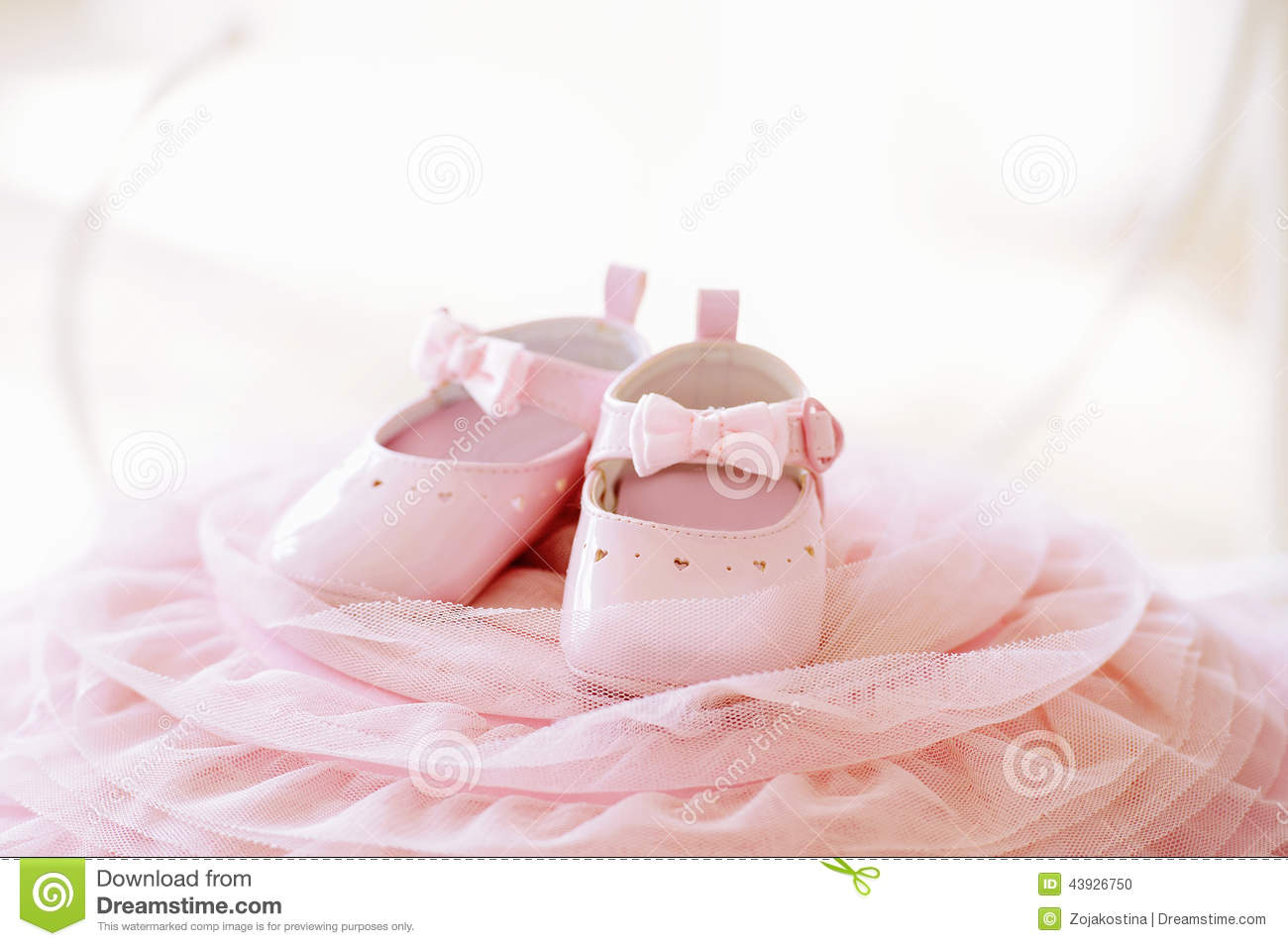 Newborn Baby Girl Wallpaper Pink Baby Girl Shoes Stock Photo Image 43926750