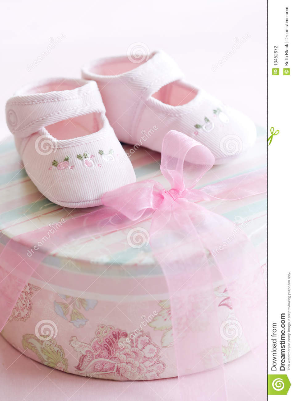 Cute Indian Baby Images For Wallpaper Pink Baby Shoes Stock Photo Image Of Girl Shower Baby