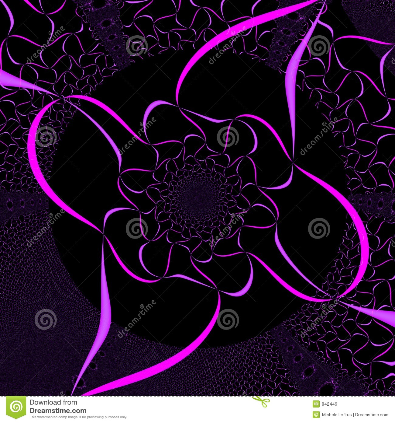 Breast Cancer 3d Wallpaper For Pc Pink And Black Background Royalty Free Stock Images