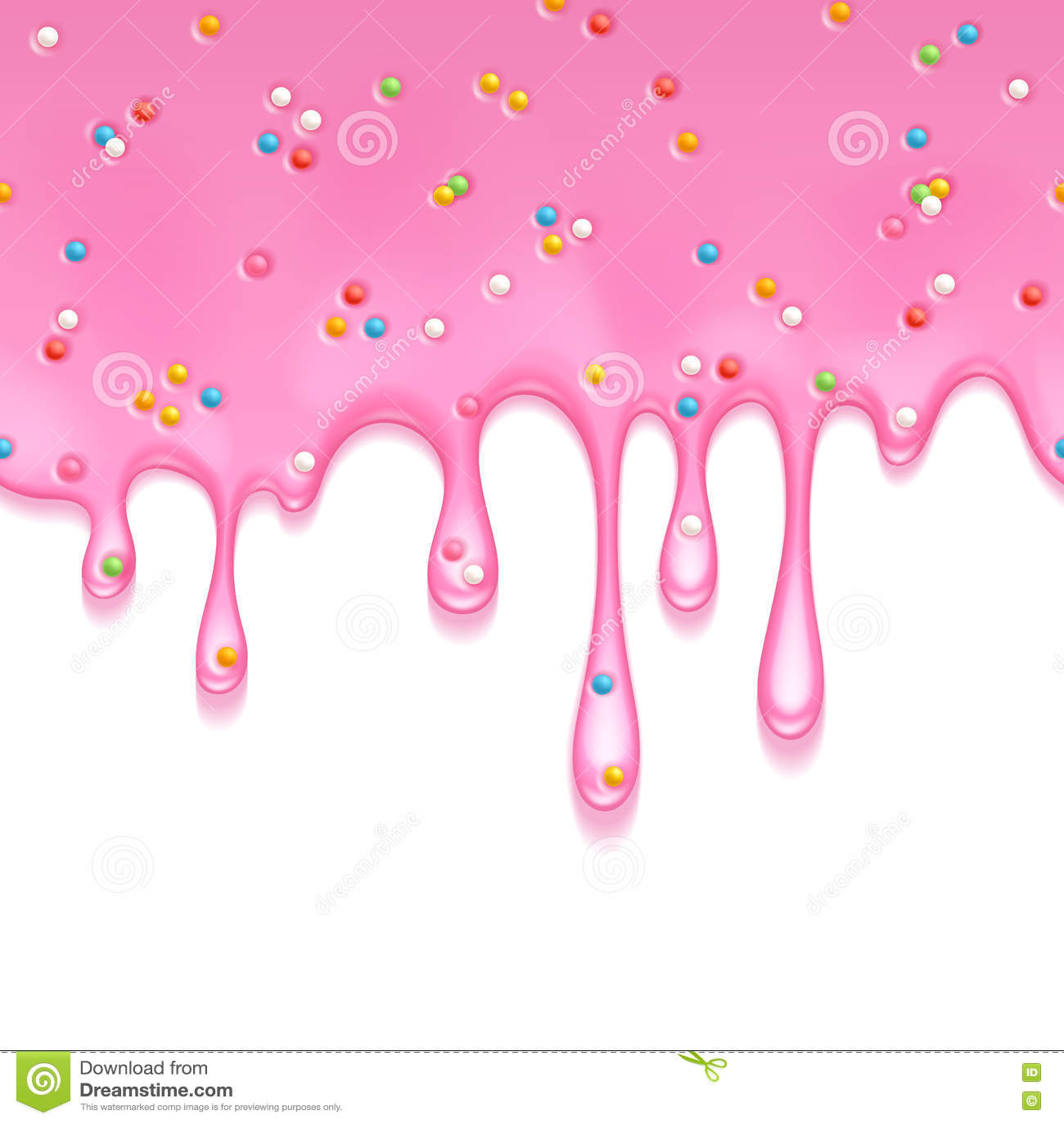 Drops Rainbow 3d Wallpaper Jellylike Cartoons Illustrations Amp Vector Stock Images