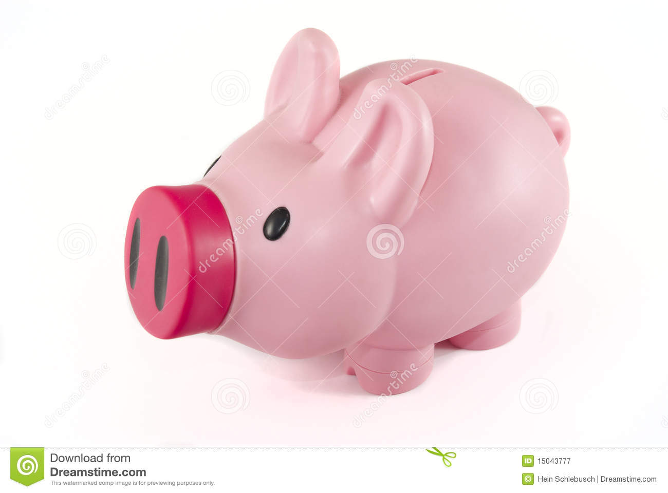 Pink Plastic Piggy Banks Pink Piggy Bank Royalty Free Stock Photography Image