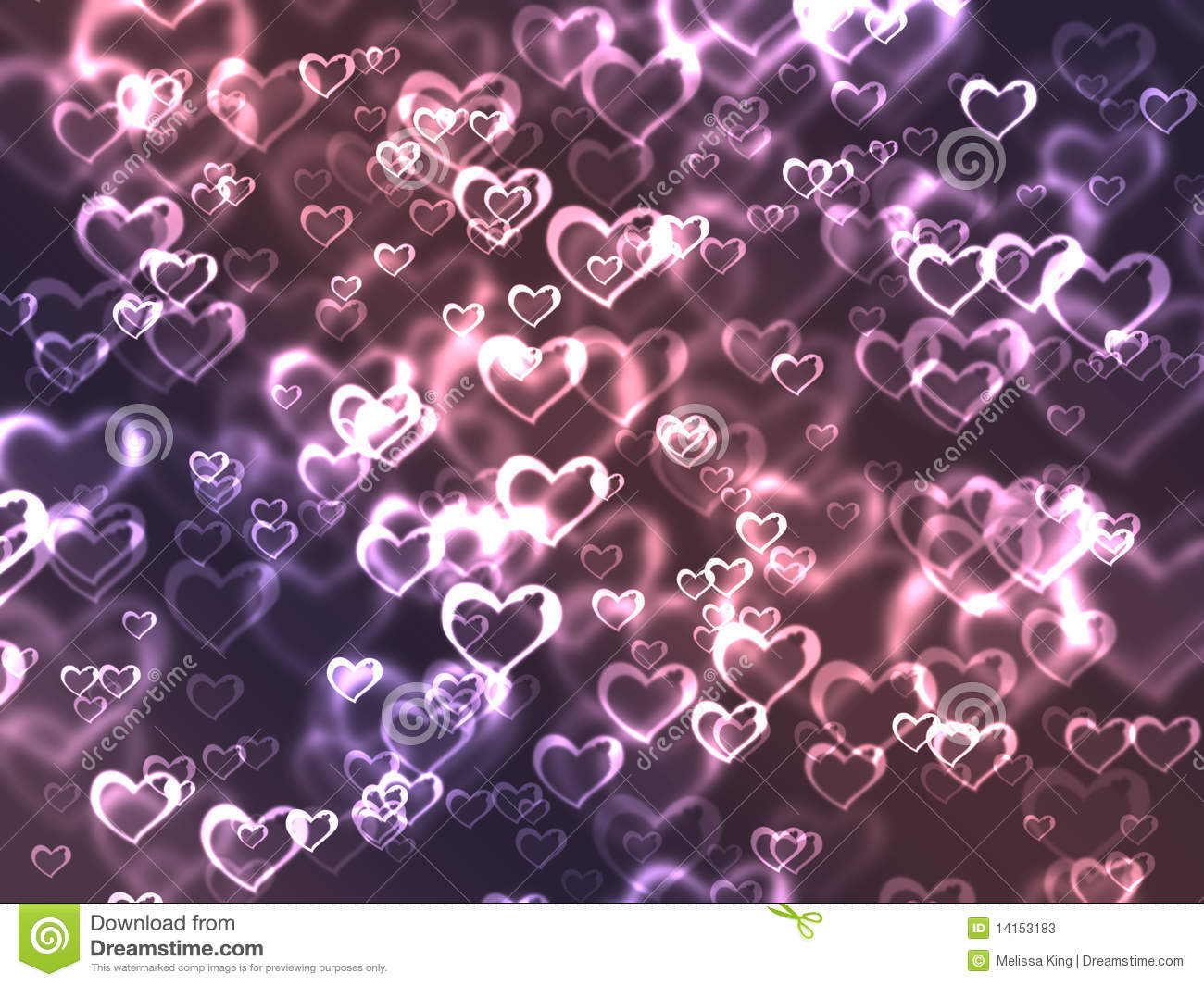 Beautiful Wallpapers 3d Animation Pink And Purple Hearts Stock Photos Image 14153183