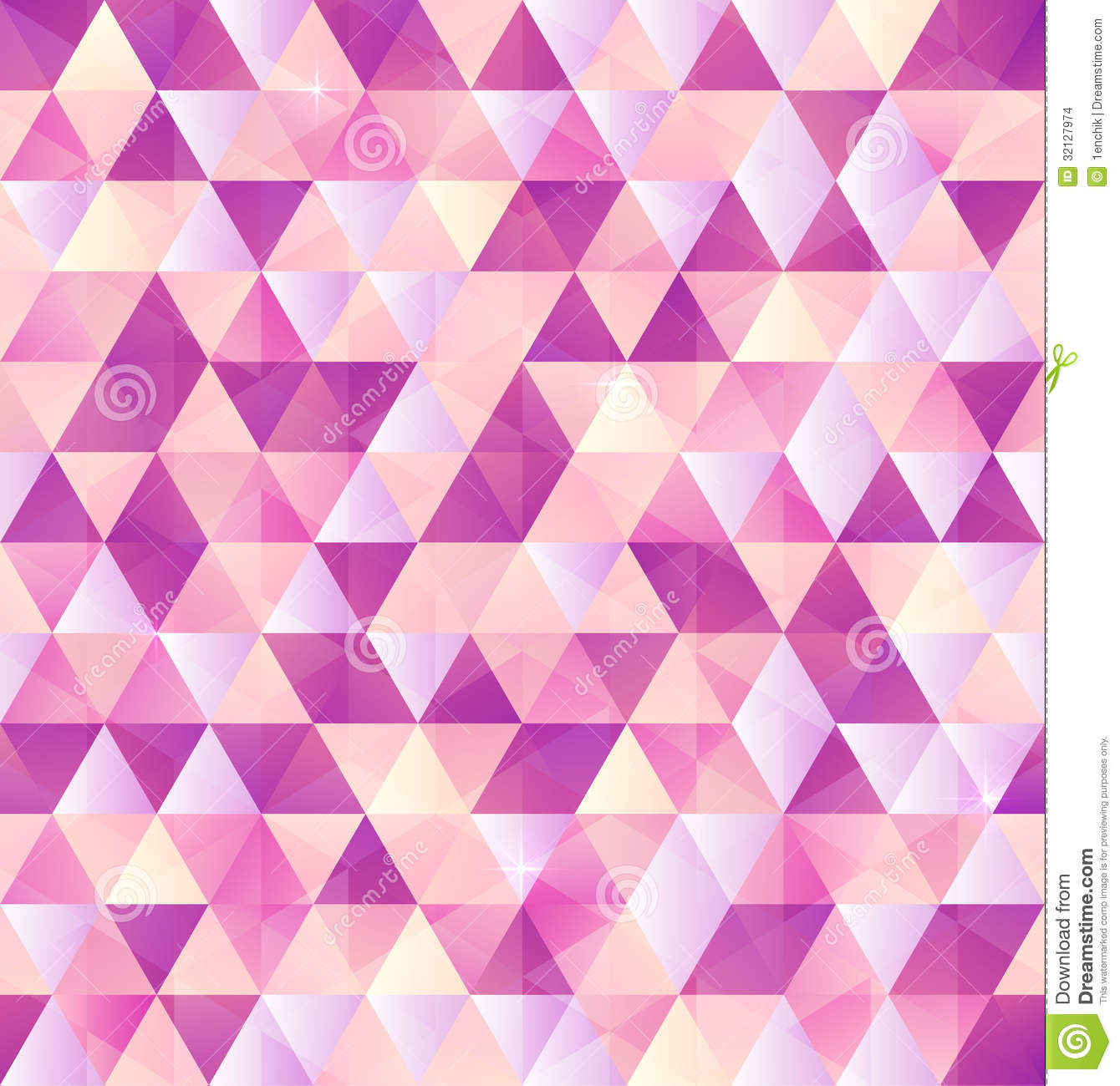 Cute Tribal Patterns Wallpaper Pink Vector Abstract Triangle Vintage Background Stock