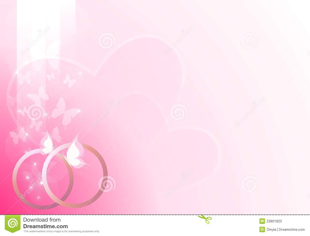 Ring Ceremony Hd Wallpaper Pink Wedding Background Stock Vector Illustration Of