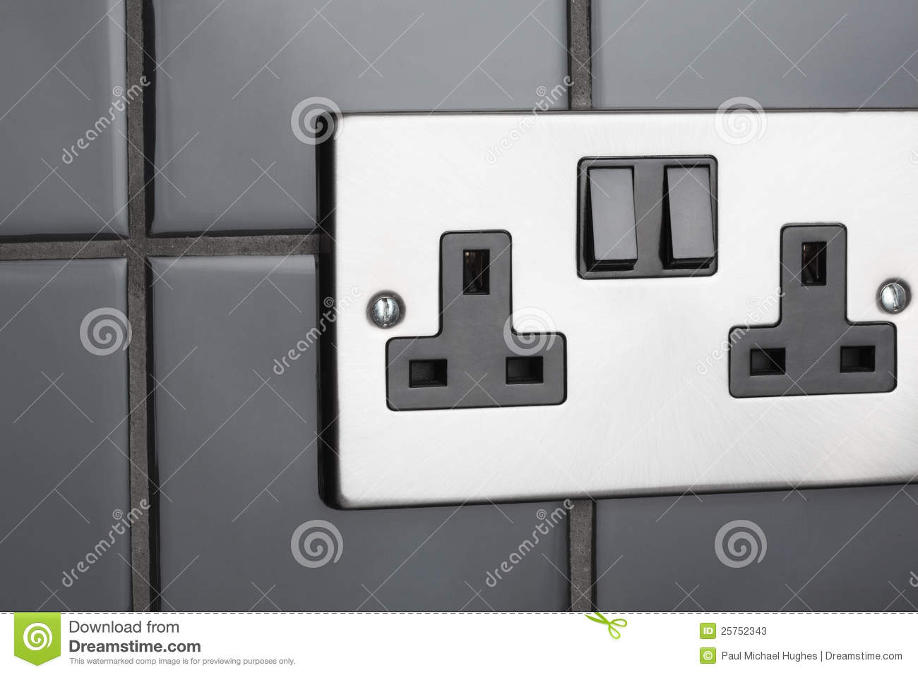 Contemporary Electrical Outlets Plug Socket In Kitchen Stock Image Image Of Fused Outlet 25752343