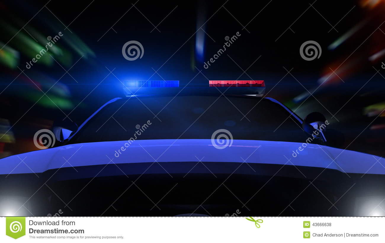 Police Car Driving Front Pov Stock Footage Video Of Equipment Lens 43666638