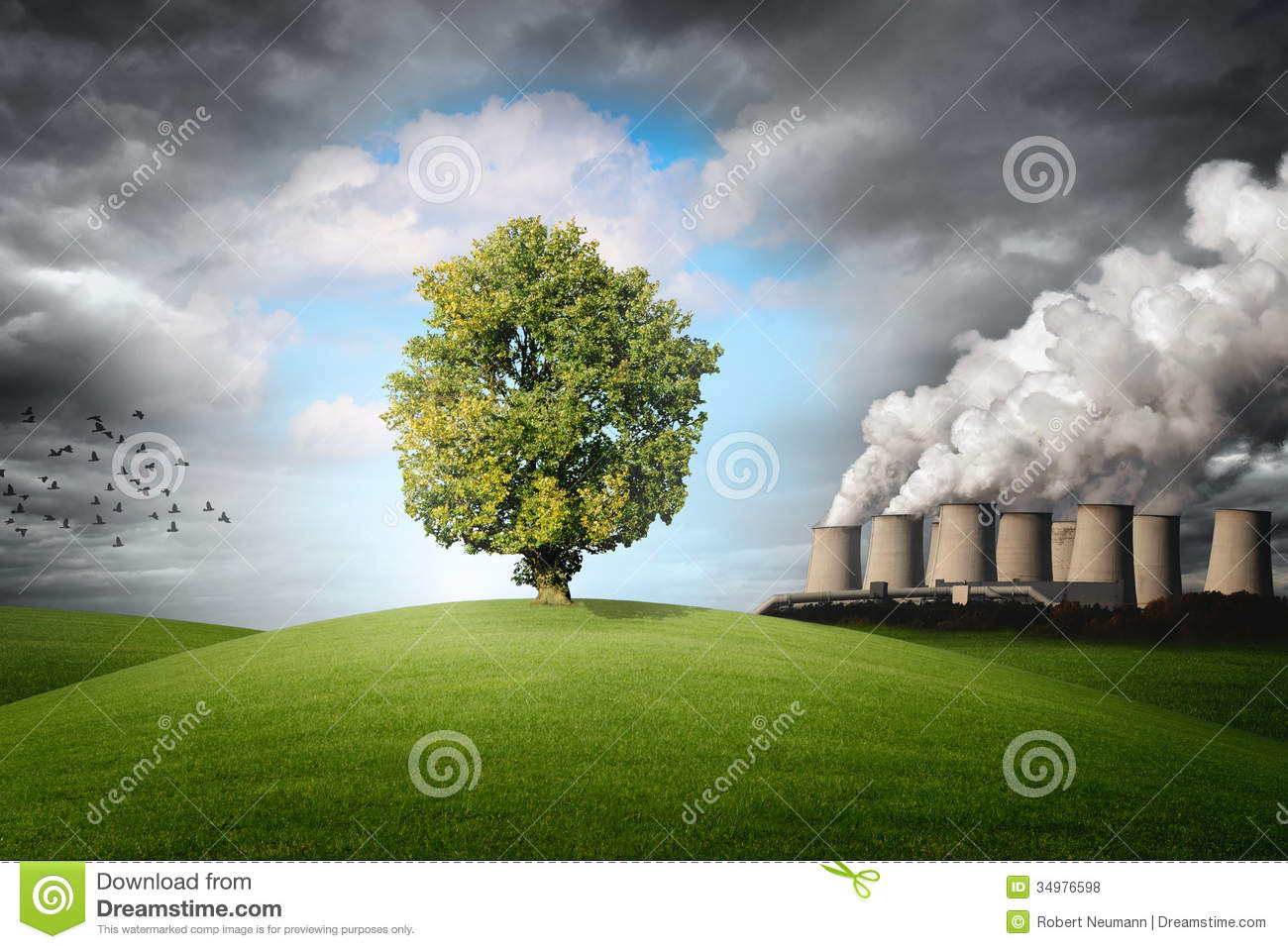 Om 3d Wallpaper Download Pollution Of The Environment Stock Illustration Image