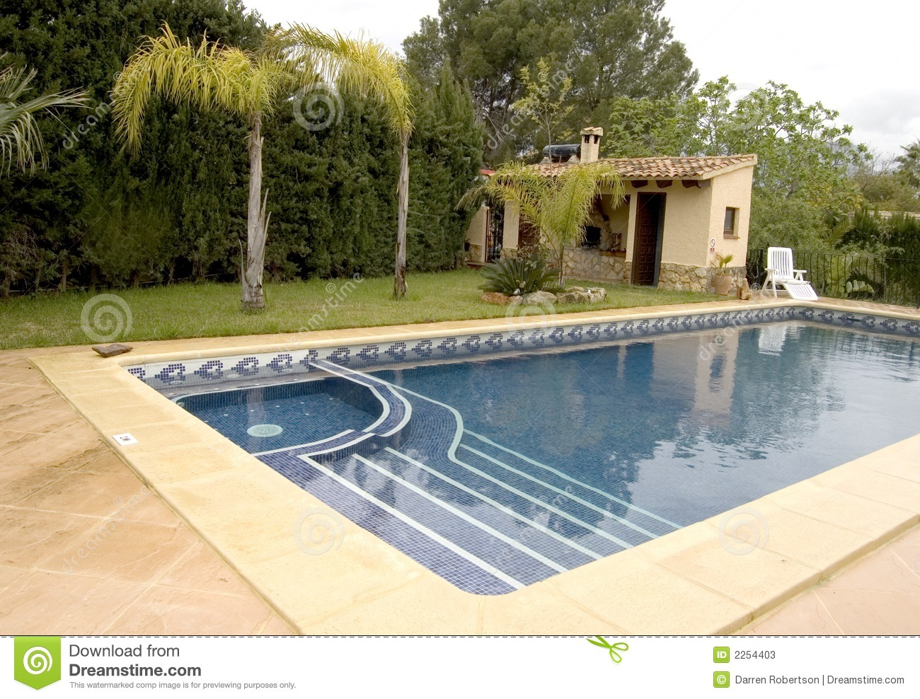 Jacuzzi In The Pool Pool With Jacuzzi Stock Image Image Of Relax Villa