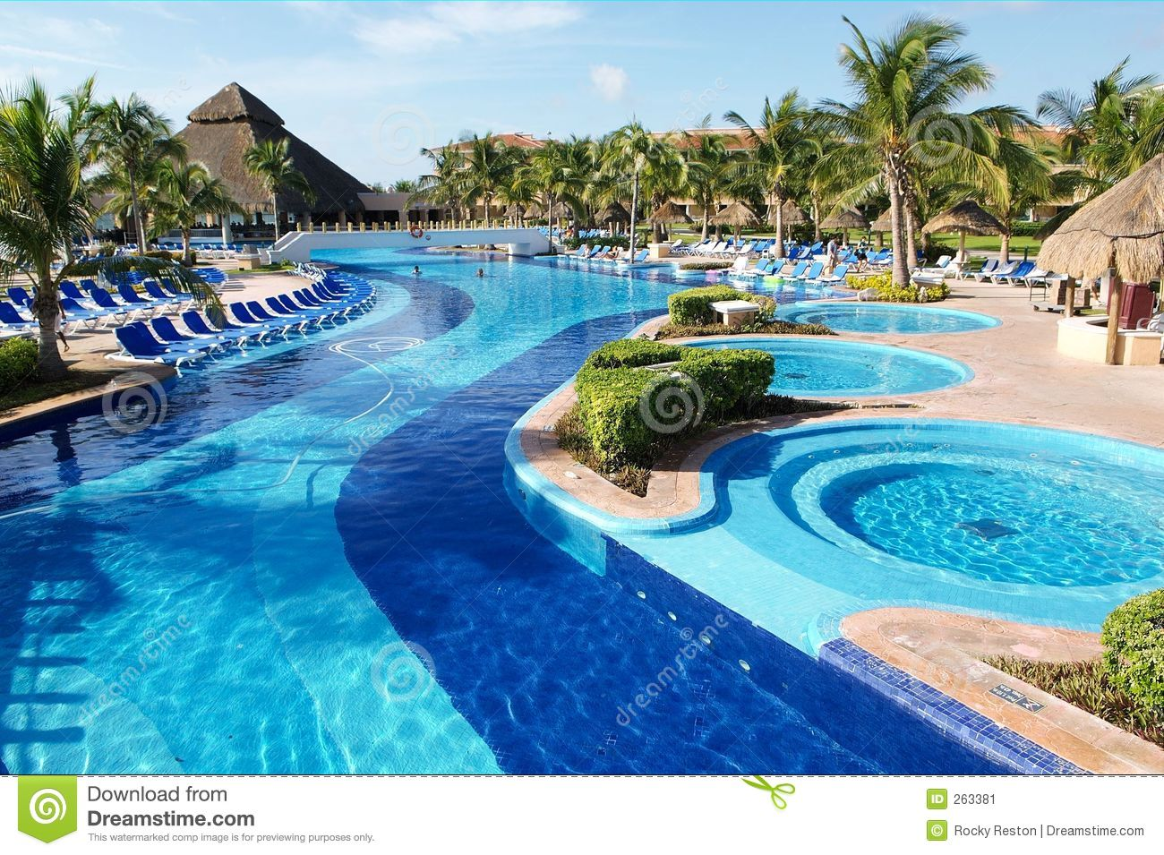 Pool And Jacuzzi Pool And Jacuzzi Stock Image Image Of Prosperity Loneliness 263381