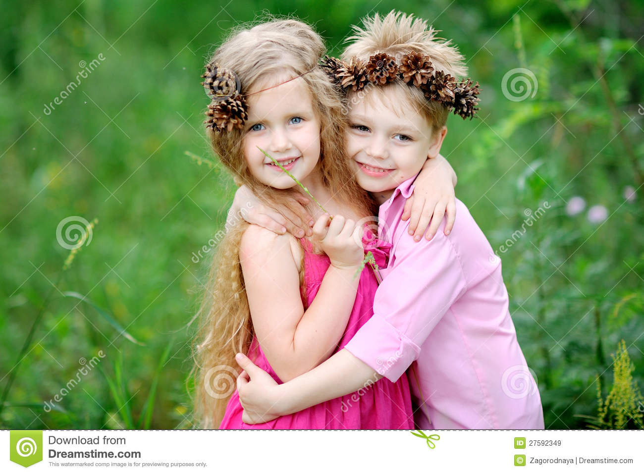 Boy And Girl Hug Wallpaper Download Portrait Of Little Boys And Girls Royalty Free Stock