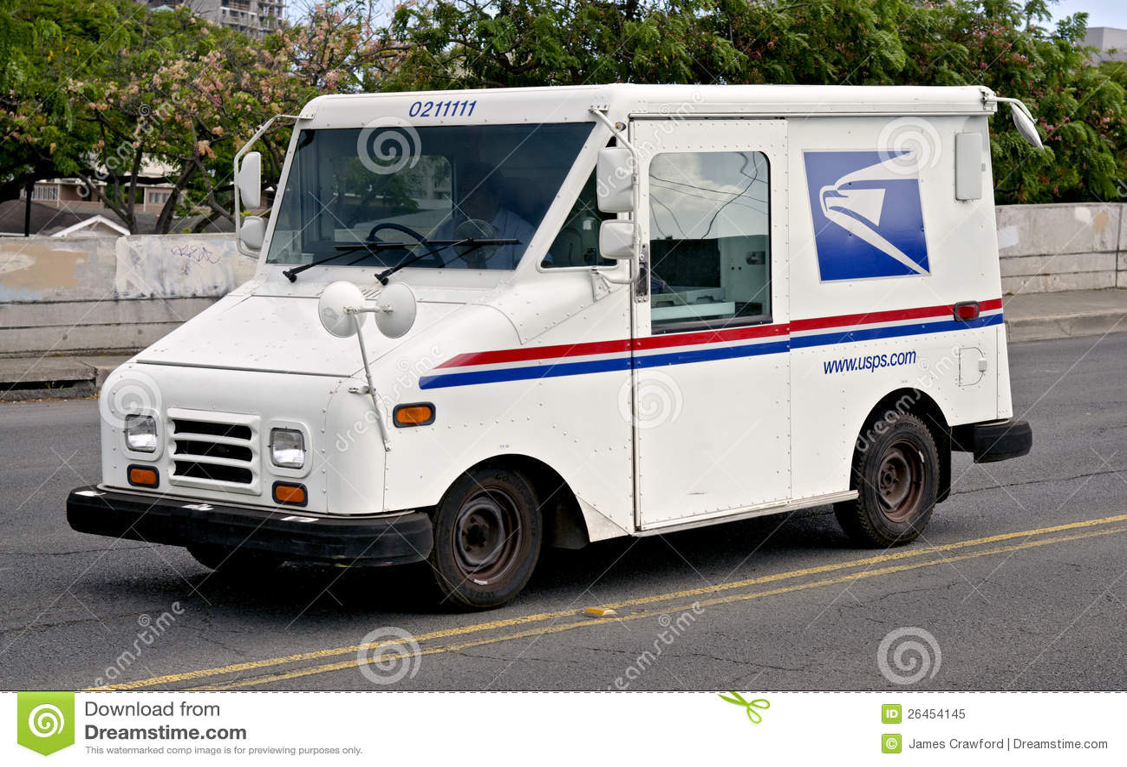 Postal Truck Editorial Image Image Of Vehicle America