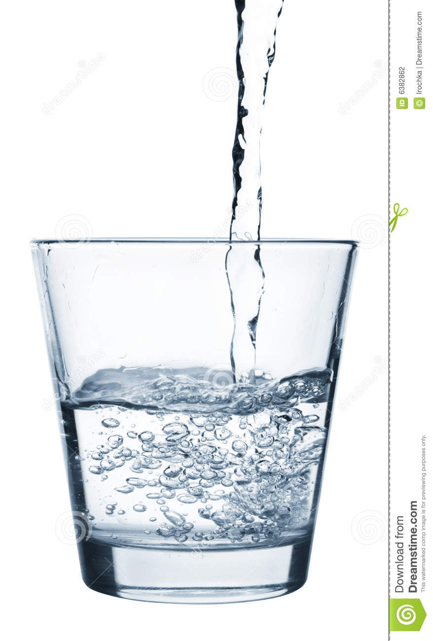 Girl Goldfish Wallpaper Pouring Water Into Glass Stock Photography Image 6382862