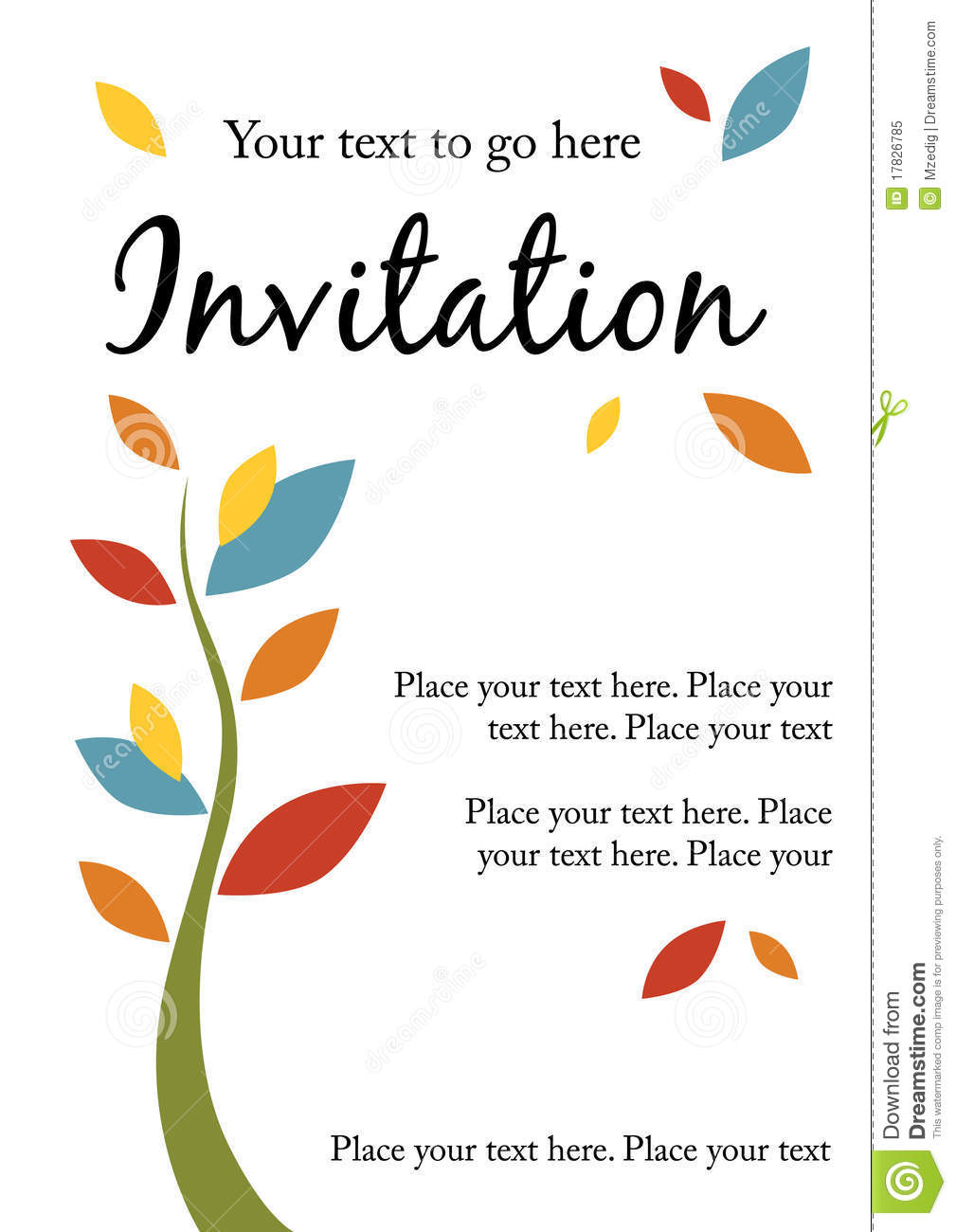 Volleyball Quotes Wallpapers Pretty Party Invitation Royalty Free Stock Photo Image