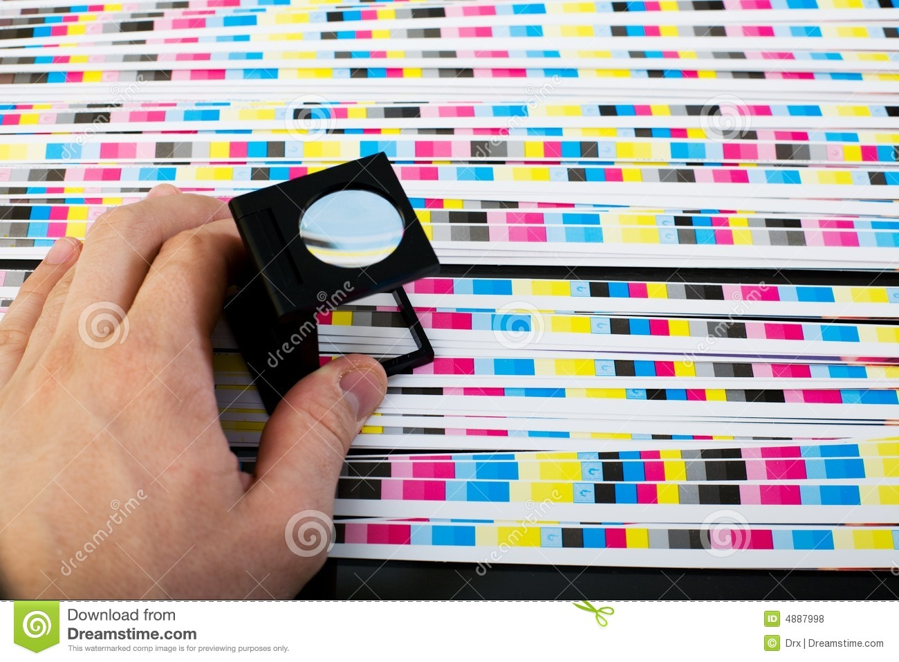 Royalty free stock photo download print sheet color quality