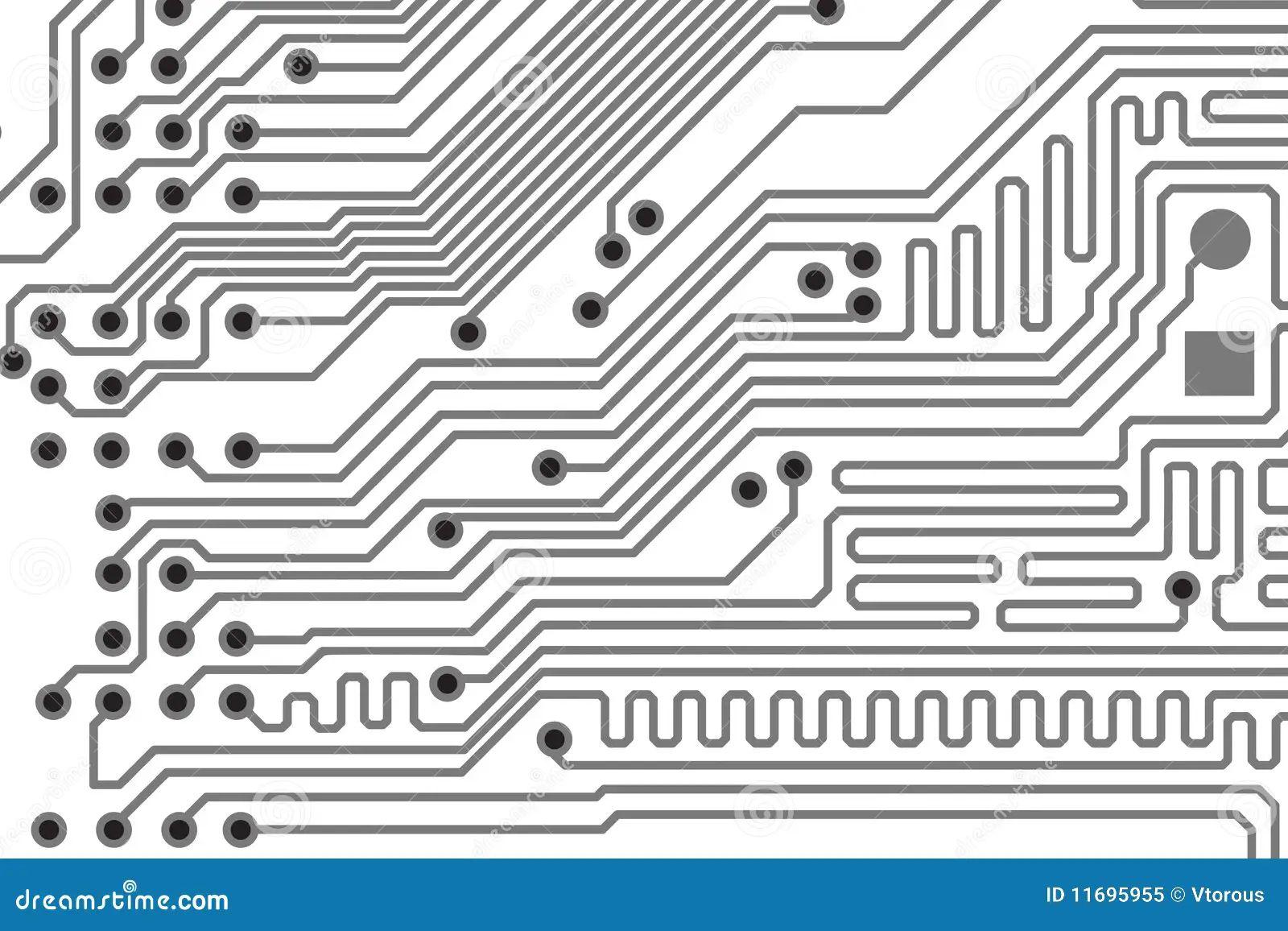 circuit board vector tile