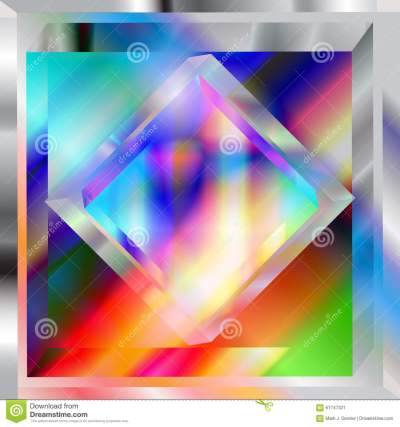 Prismatic Stock Vector - Image: 61747321