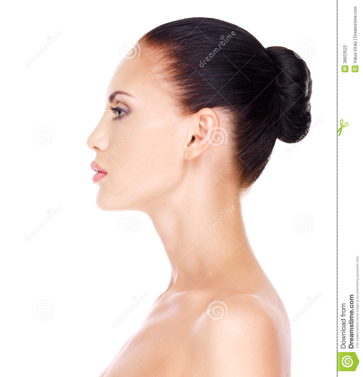 Woman Profile Profile Face Of Young Woman Stock Photo Image 38923522