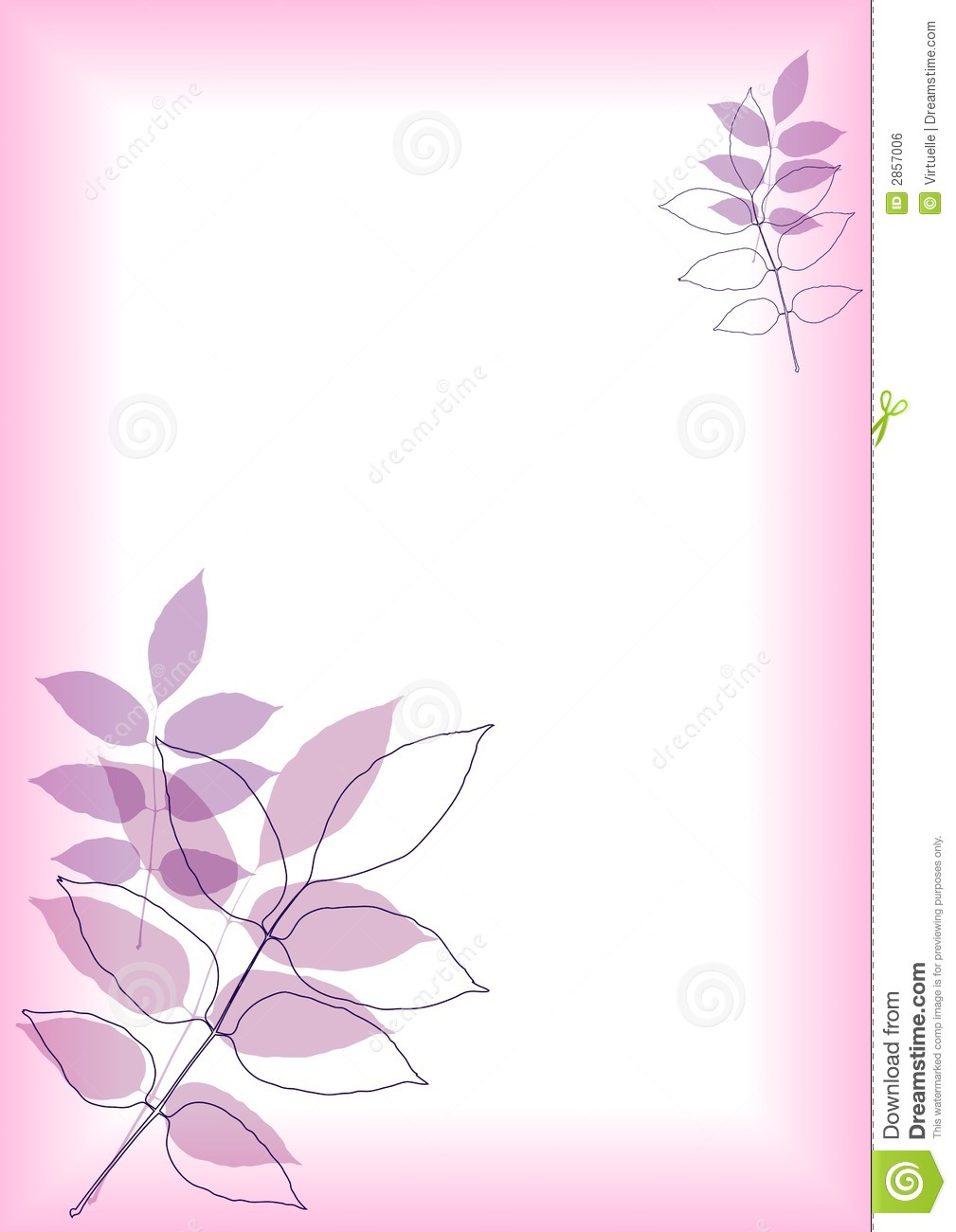 Fall Season Wallpaper Free Purple Foliage Border Royalty Free Stock Image Image