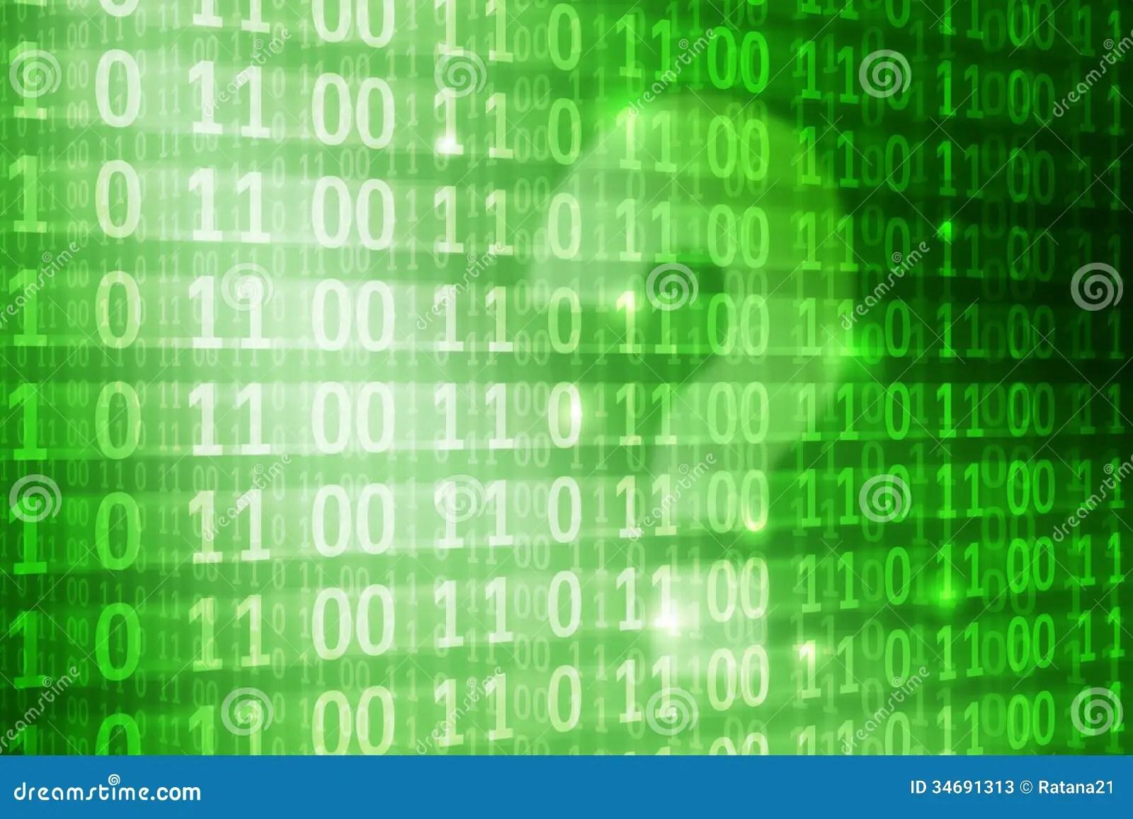 Binary Code Wallpaper Hd Question Mark On Binary Code Background Stock Illustration
