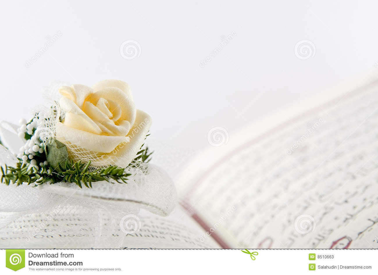 Sabr Quotes Wallpaper Quran And The Rose Stock Image Image Of Koran Page