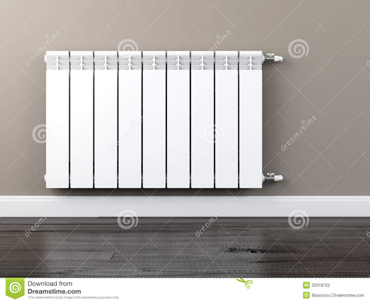 Radiateur De Chauffage Radiateur De Chauffage Central Photographie Stock Image