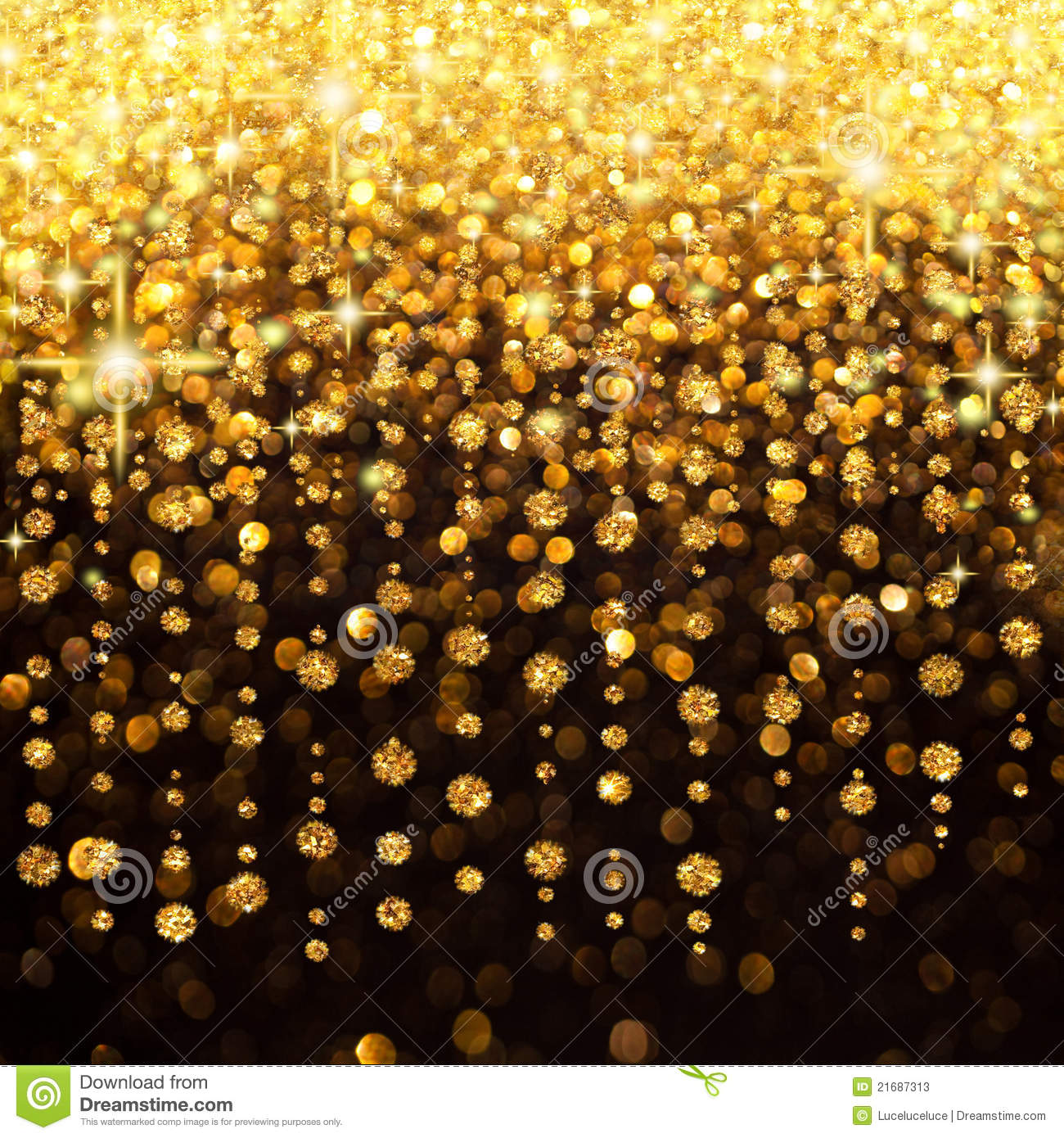 3d Colour Wallpaper Free Download Rain Of Lights Christmas Or Party Background Stock Photos
