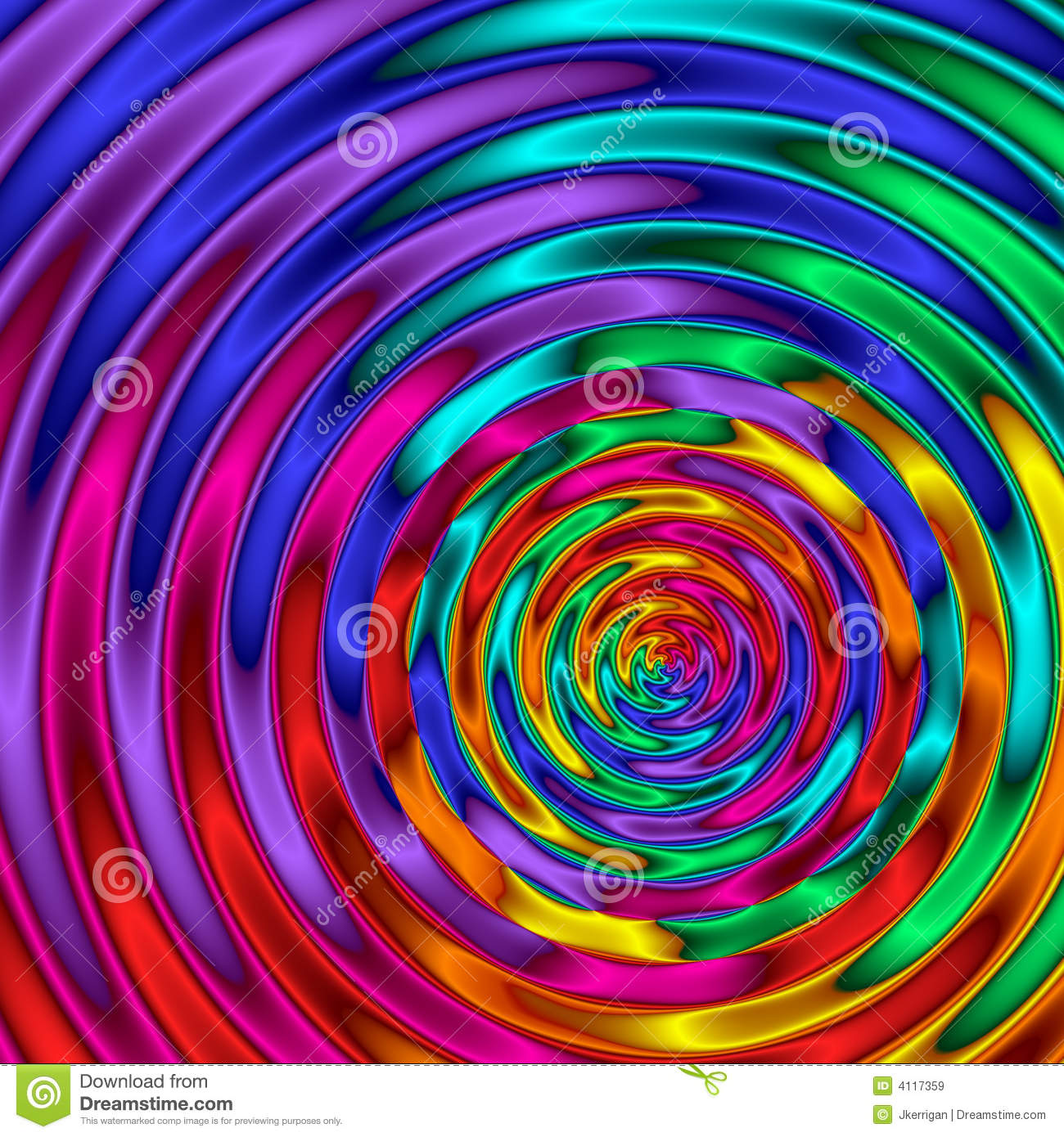 3d Rainbow Psychedeli Wallpaper Rainbow Ripples Royalty Free Stock Images Image 4117359