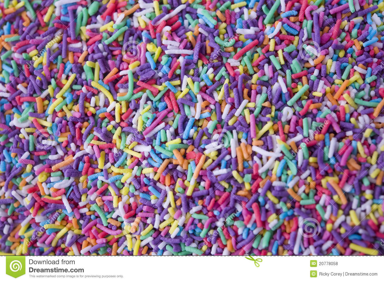 Free Animated Fall Wallpaper Rainbow Sprinkles Stock Photo Image Of Decoration
