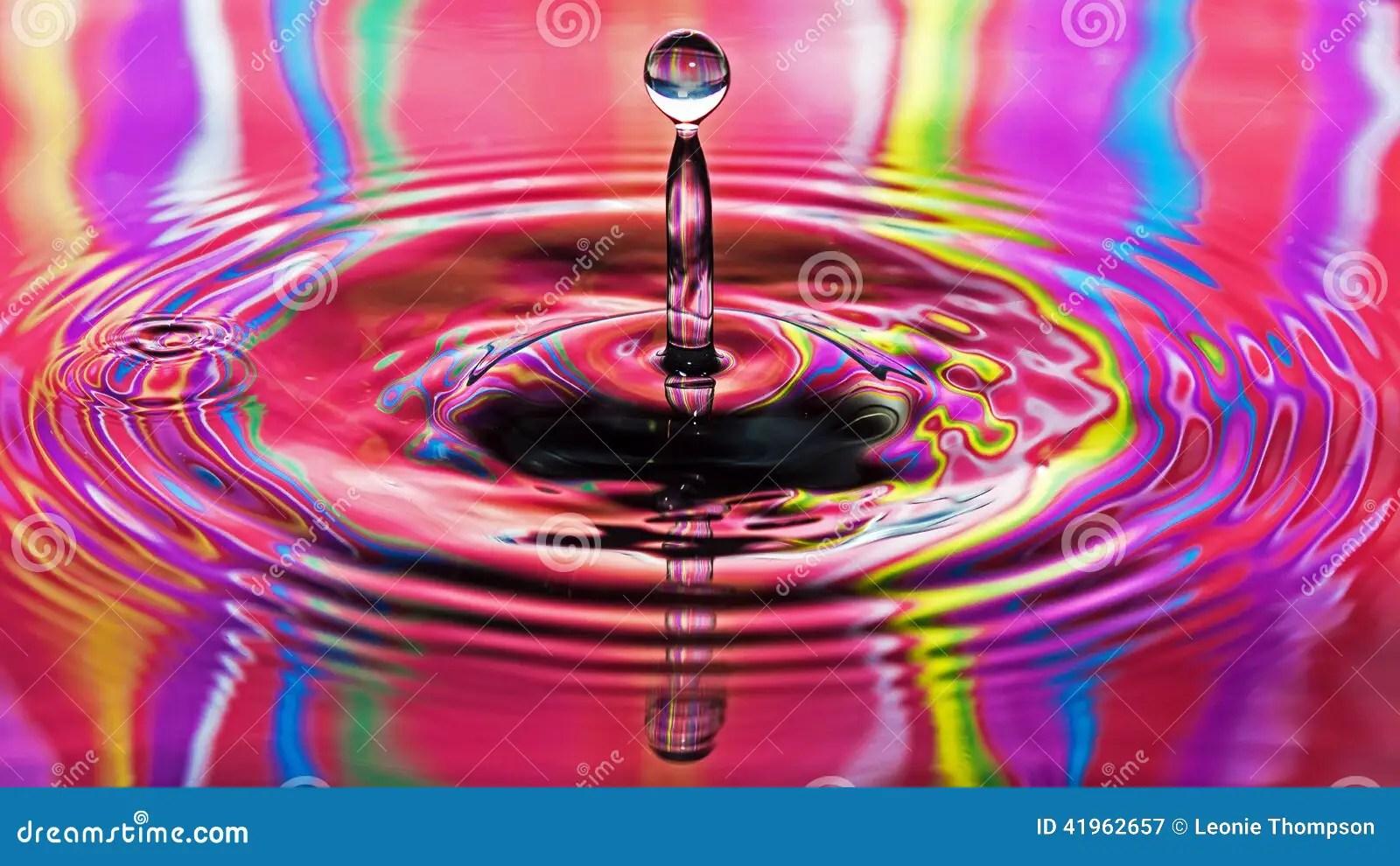 Drops Rainbow 3d Wallpaper Cool Rainbow Water Backgrounds Www Pixshark Com Images