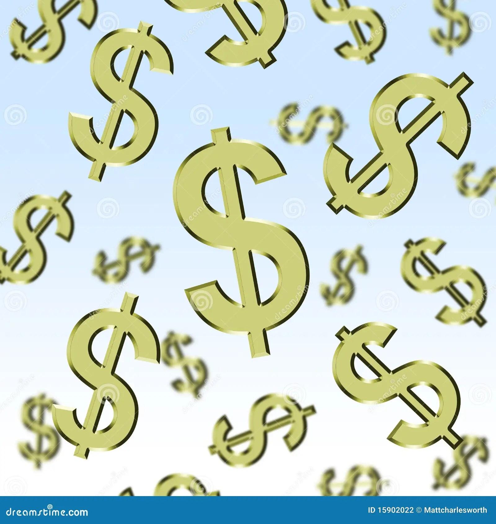 Cartoon Animation Wallpaper Free Download Raining Dollars Stock Illustration Image Of Dollars