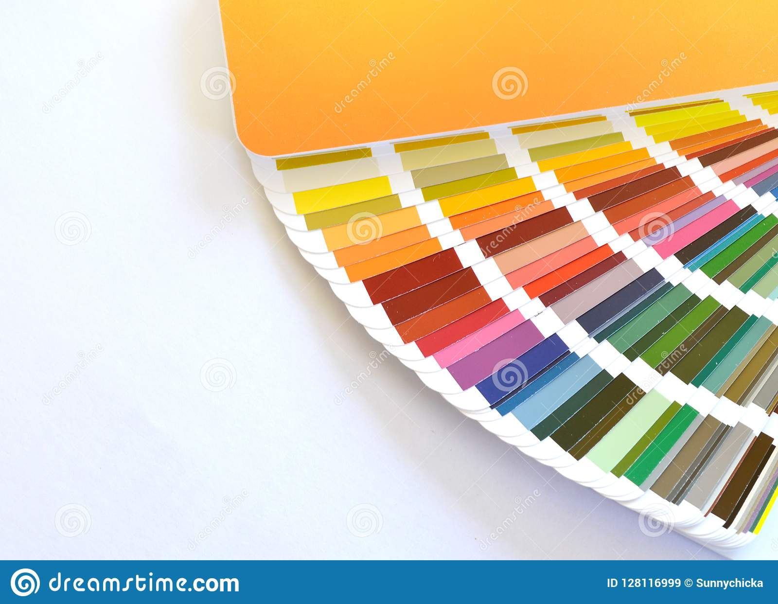 Ral Cmyk Ral Color Fan Cmyk Color Color Pattern Stock Image Image