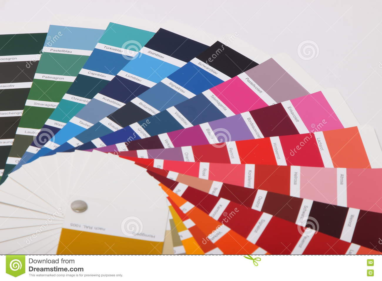 Ral Cmyk Ral Colours On White Background Stock Photo Image Of Cmyk Print
