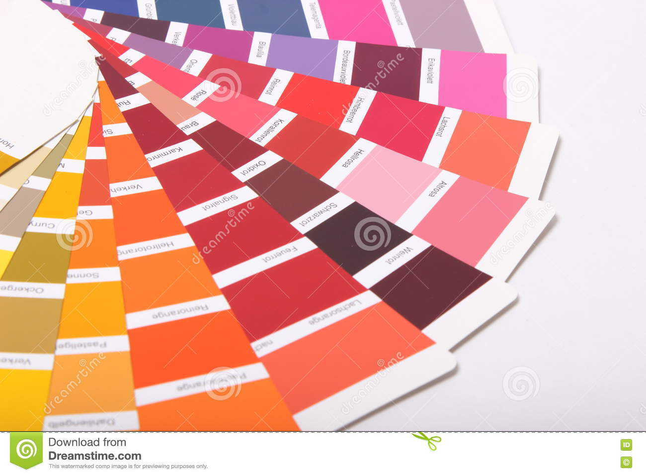 Ral Cmyk Ral Colours On White Background Stock Image Image Of Cmyk Guide