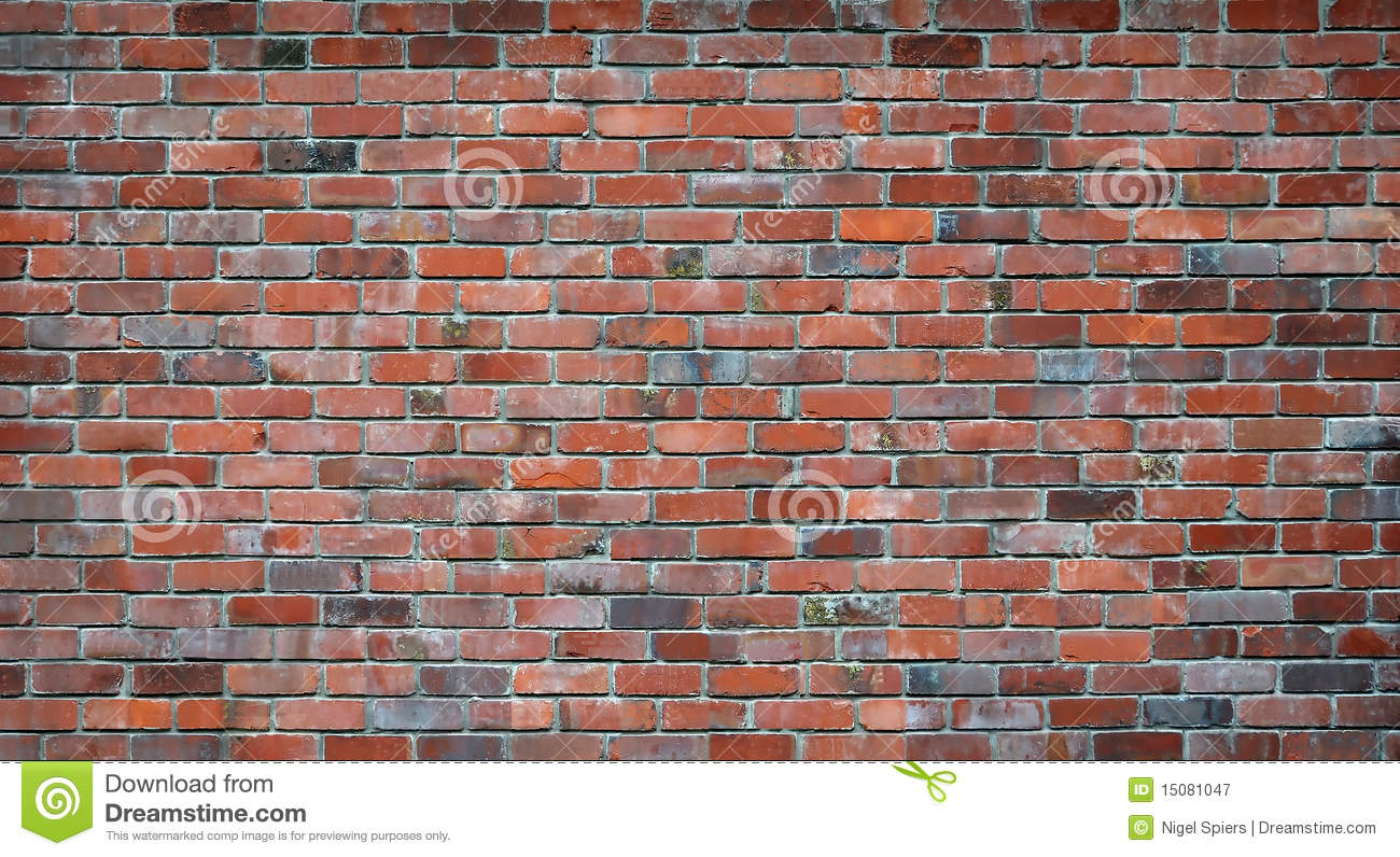 3d Brick Wallpaper For Walls Red Brick Wall Background Stock Image Image Of Cement