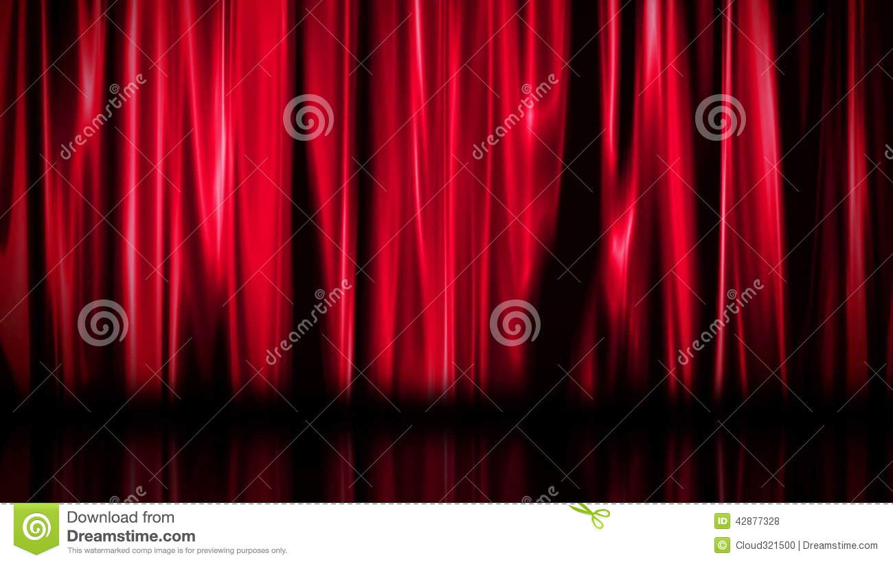 Badezimmerspiegel Theater Curtain Hd