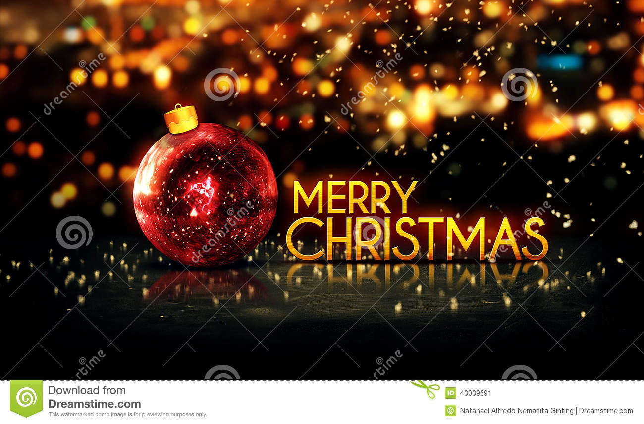 3d Wallpaper Free Download African Grey Red Gold Merry Christmas Bokeh Beautiful 3d Background