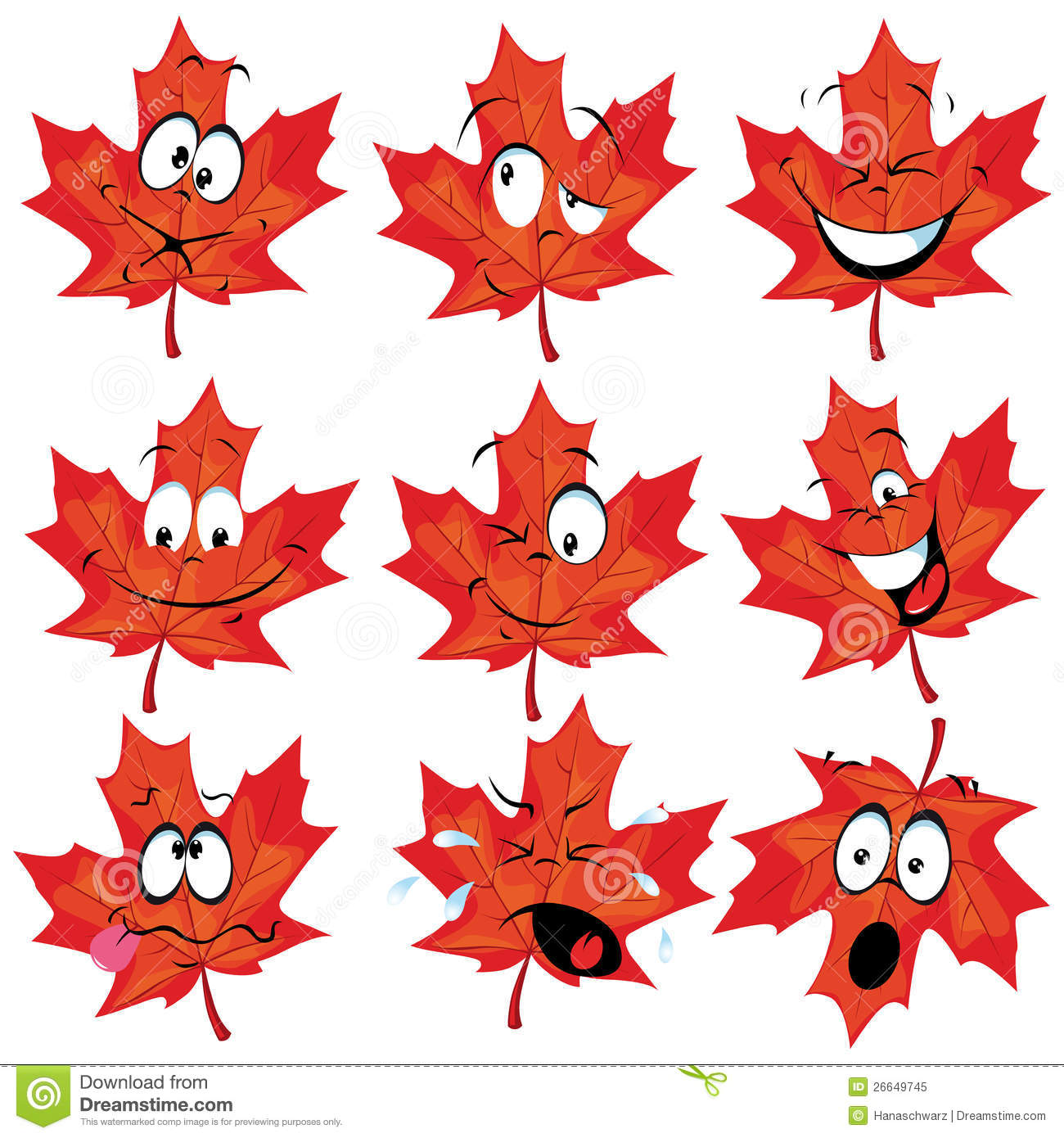 Maple Leaf Wallpaper For Fall Season Red Maple Leaf Mascot Royalty Free Stock Photo Image