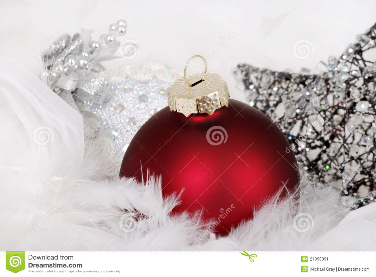 Silver and red christmas decorations - Silver And Red Christmas Decorations 16