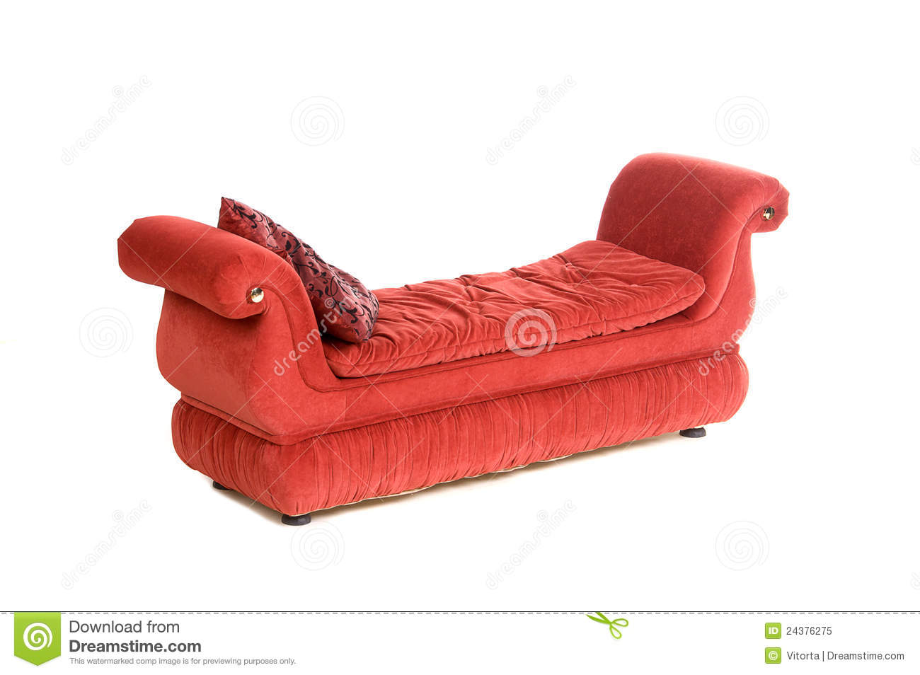 Retro Inflatable Sofa Red Sofa In Retro Style Stock Image Image Of Isolated 24376275