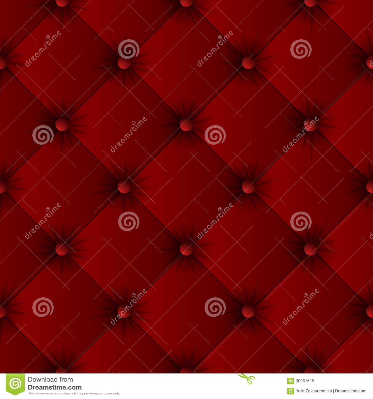 Sofa Texture Vector Red Sofa Texture Seamless Pattern Stock Vector Illustration Of