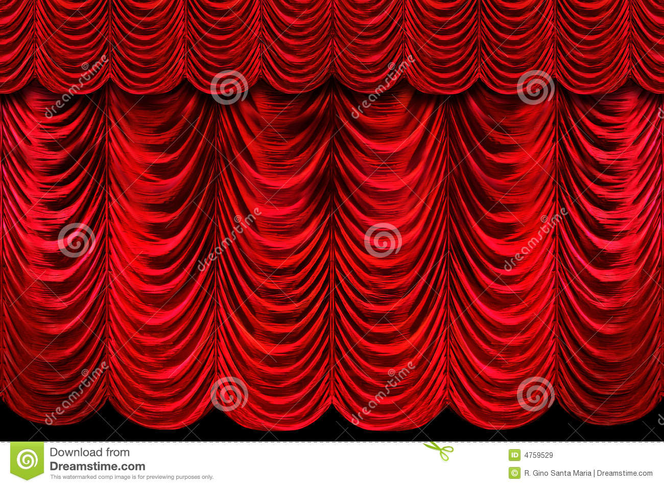 Red stage curtains - Red Stage Curtains