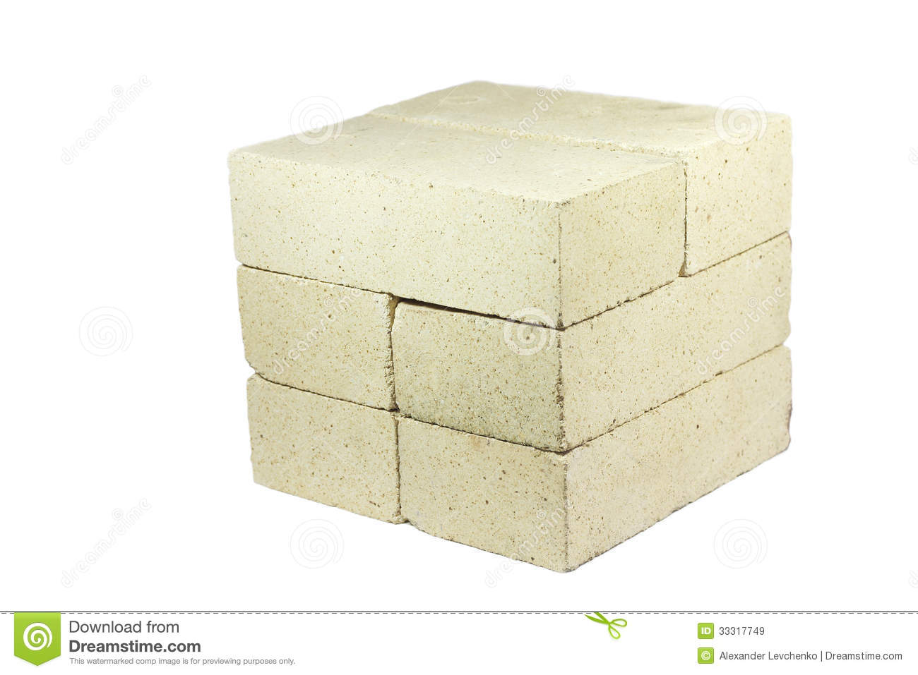 Refractory Brick Refractory Brick Stock Image Image Of Isolated Several 33317749