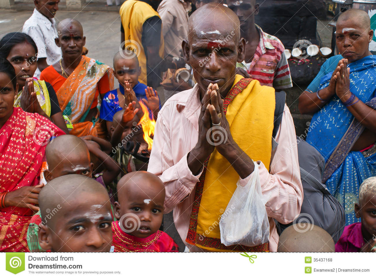 People India Religious Hindu People Of India Editorial Stock Photo