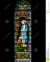 Religious Stained-glass Window Royalty Free Stock Image ...