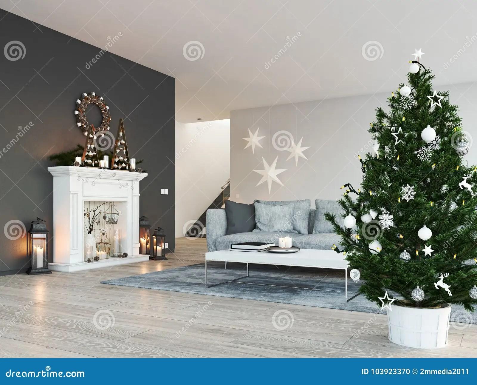 Decoration Moderne De Noel