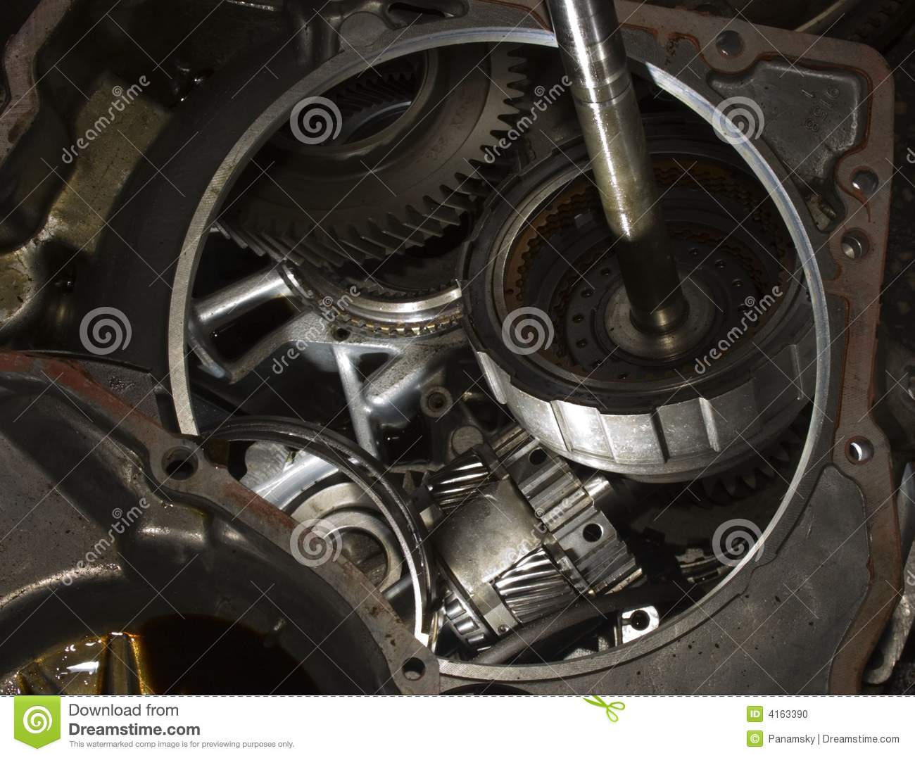 Repair Automatic Repair Automatic Gearbox Stock Photo Image 4163390