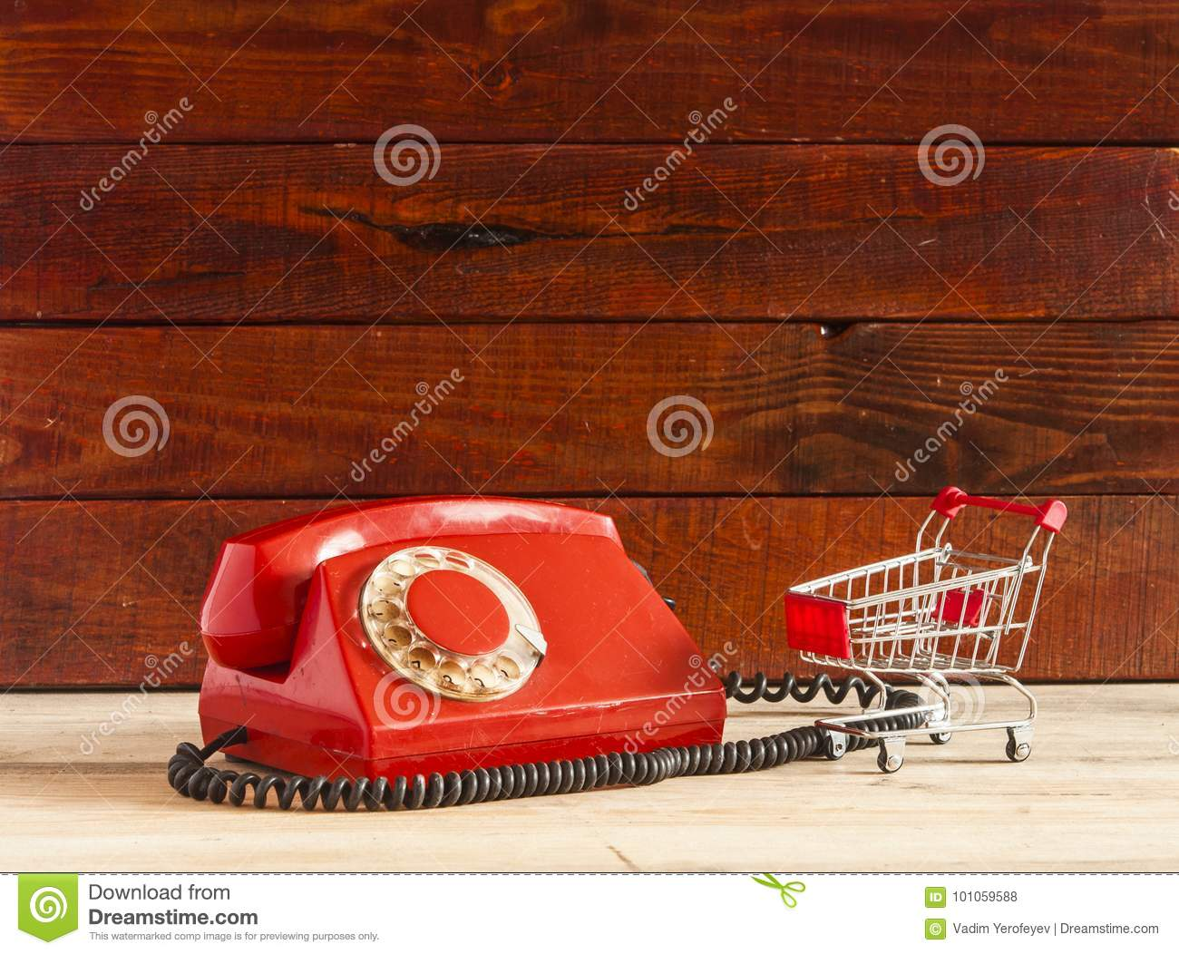 Chaise Longue Telephone Table Retro Rotary Telephone On Wood Table Stock Photo Image Of Symbol