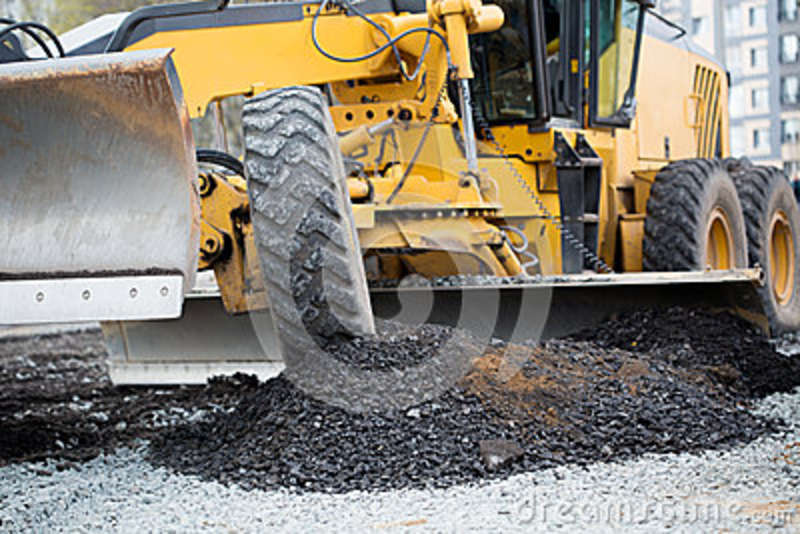 Road construction works stock image Image of building - 42376151